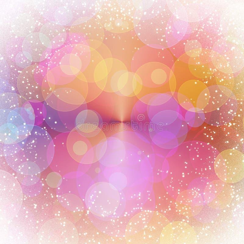 Romantischer abstrakter Hintergrund stock abbildung