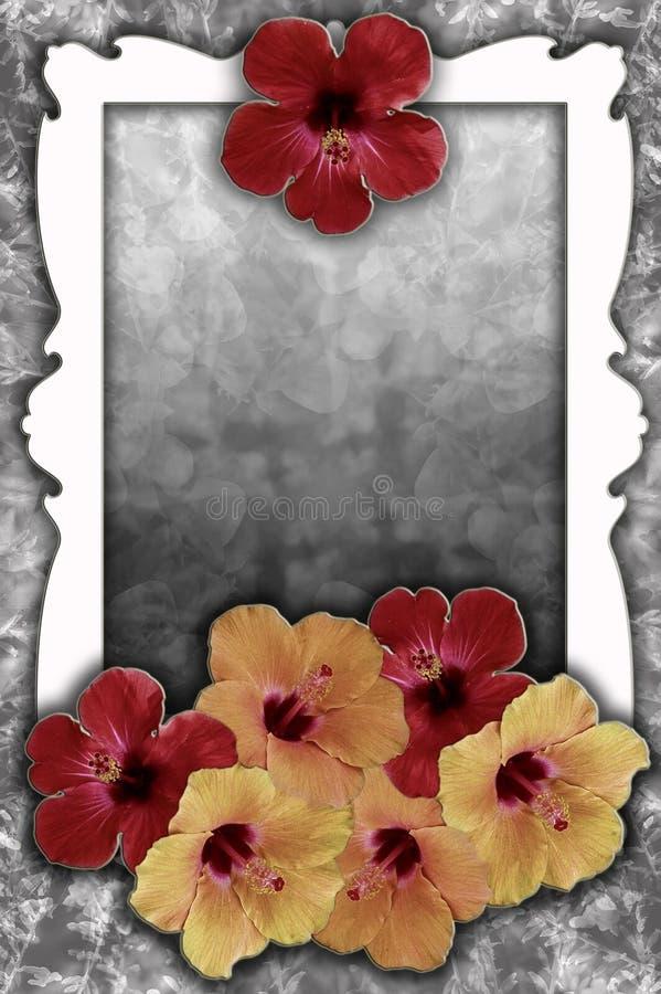 Romantischer Bild-/Textrahmen lizenzfreie stockfotos