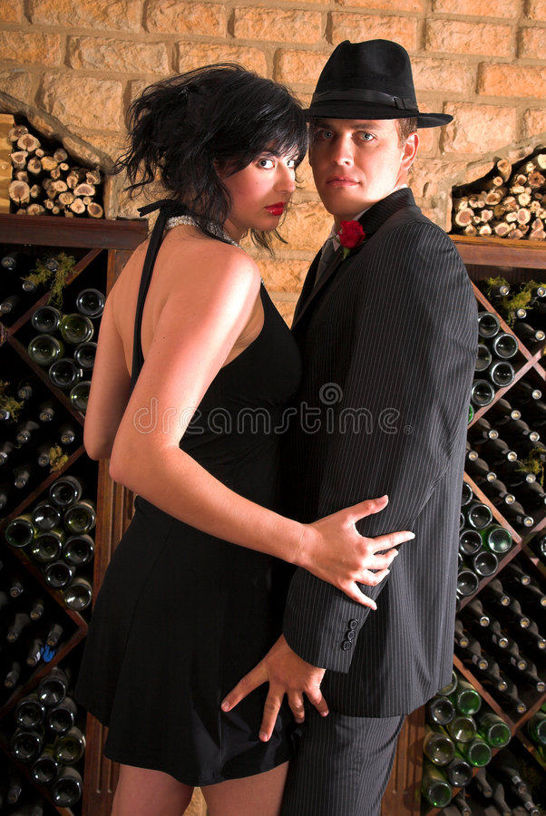 Romantischer Tanz stockfotos