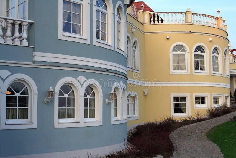 Romantischer Wohnsitz stockbilder