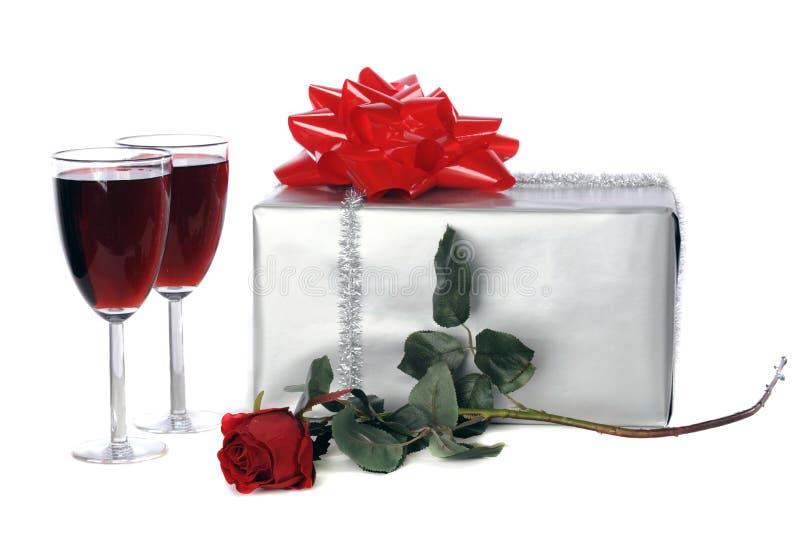 Romantisches Geschenk lizenzfreie stockfotografie