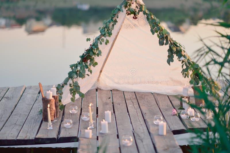 Romantisches Picknick lizenzfreies stockbild
