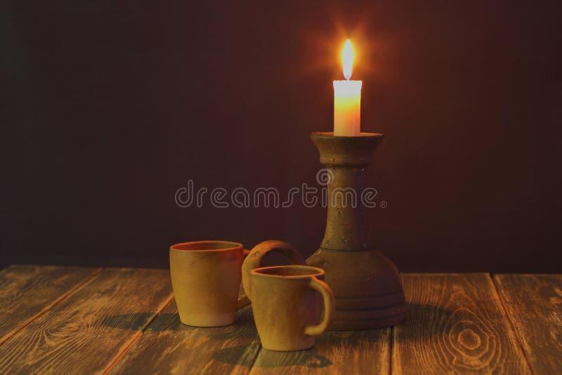 Romantisk afton tillsammans  arkivfoto
