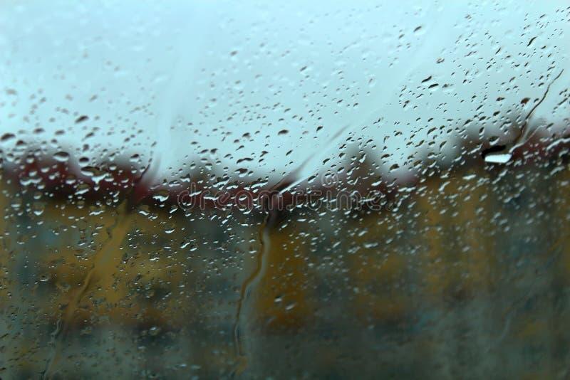 Romantisk lynnetextur för regnigt väder royaltyfri foto
