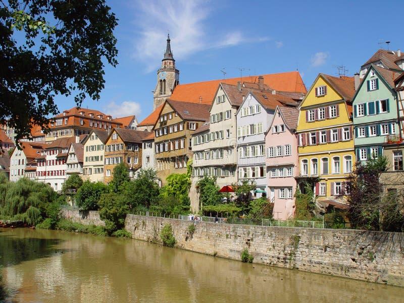 romantisk town arkivbild