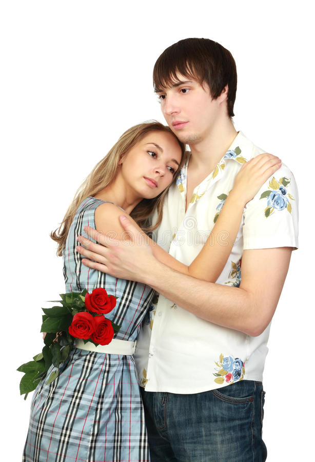 romantiska förhållanden royaltyfri foto