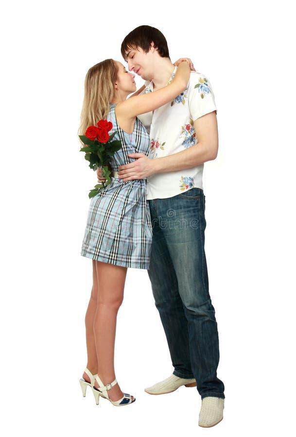 romantiska förhållanden royaltyfria bilder