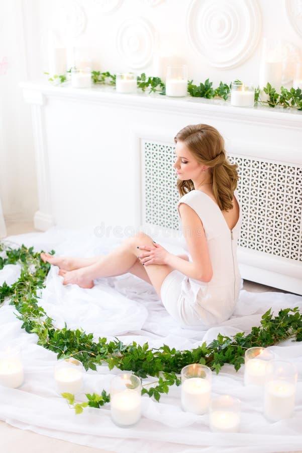 Romantiskt barn royaltyfria bilder