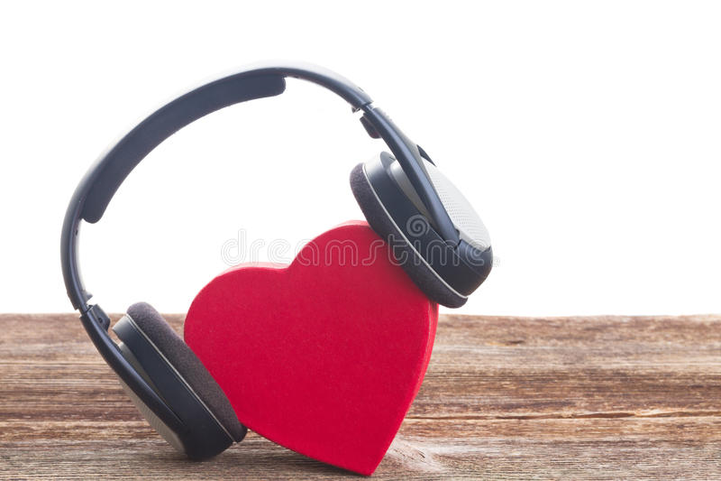 Romantiskt musikbegrepp arkivfoto