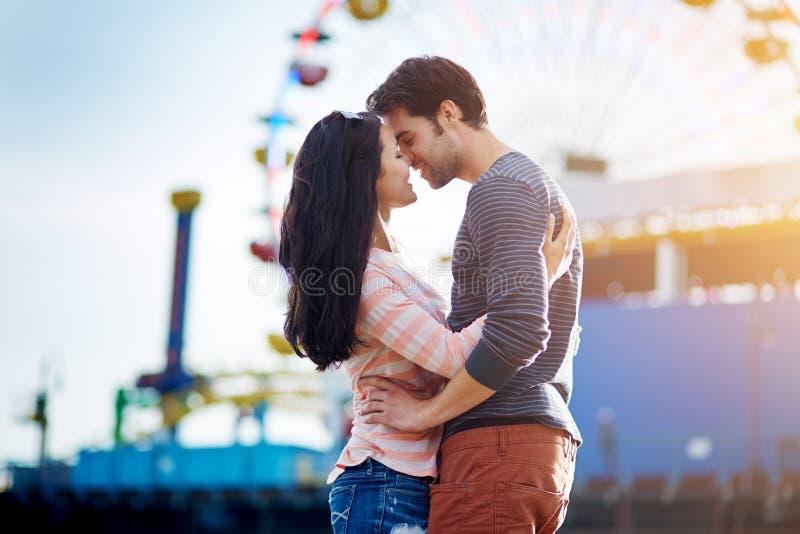 Romantyczna para fotografia royalty free
