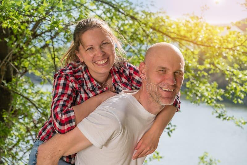 romantyczna pary miłość zdjęcie royalty free
