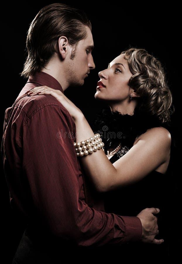 romantyczna piękna para zdjęcie royalty free
