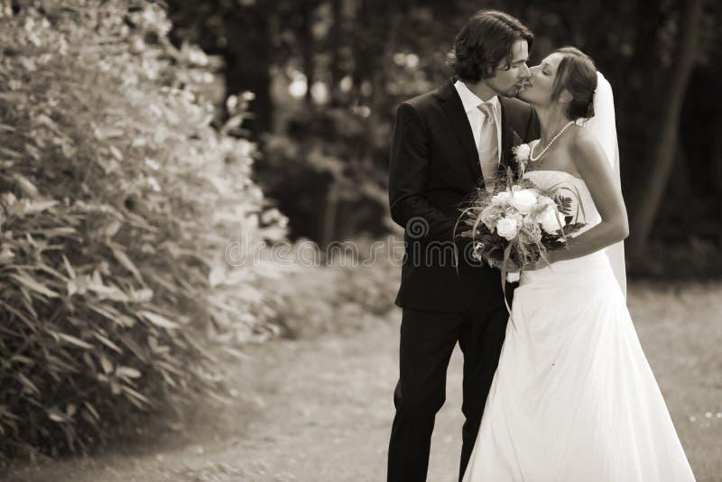romantyczny ślub zdjęcie royalty free