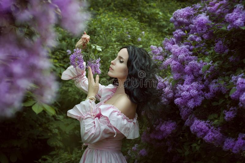 Romantyczny portret m?oda kobieta zdjęcia royalty free
