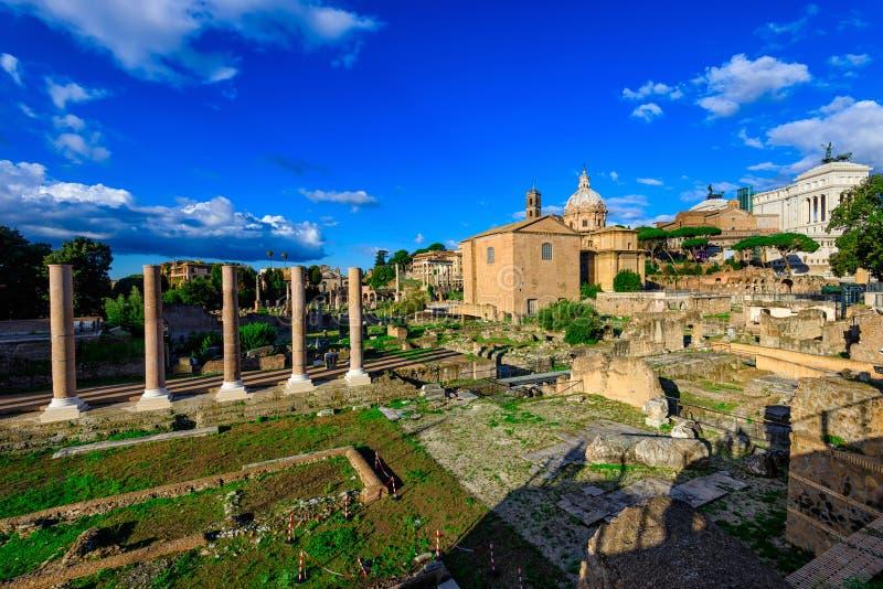 romanum rome Италии форума стоковая фотография rf