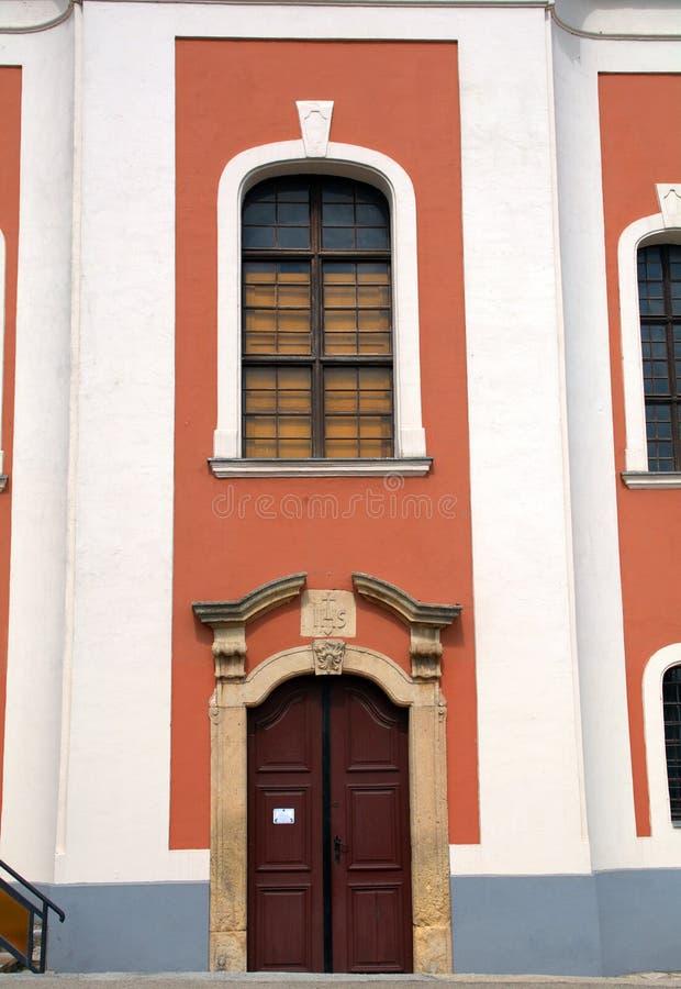 Romare - katolsk kyrka, Balatonalmadi, Ungern royaltyfri fotografi