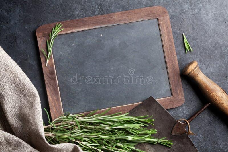 romarin d'herbe images libres de droits