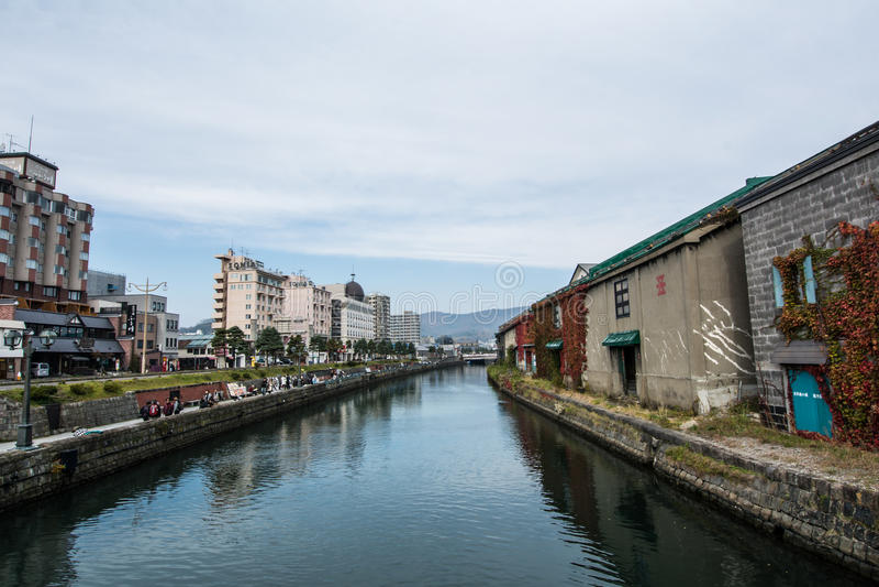 Romatickanaal stock afbeelding