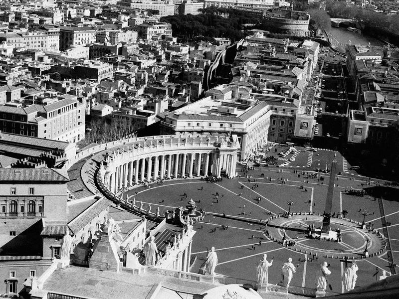 Rome from Above royalty free stock images