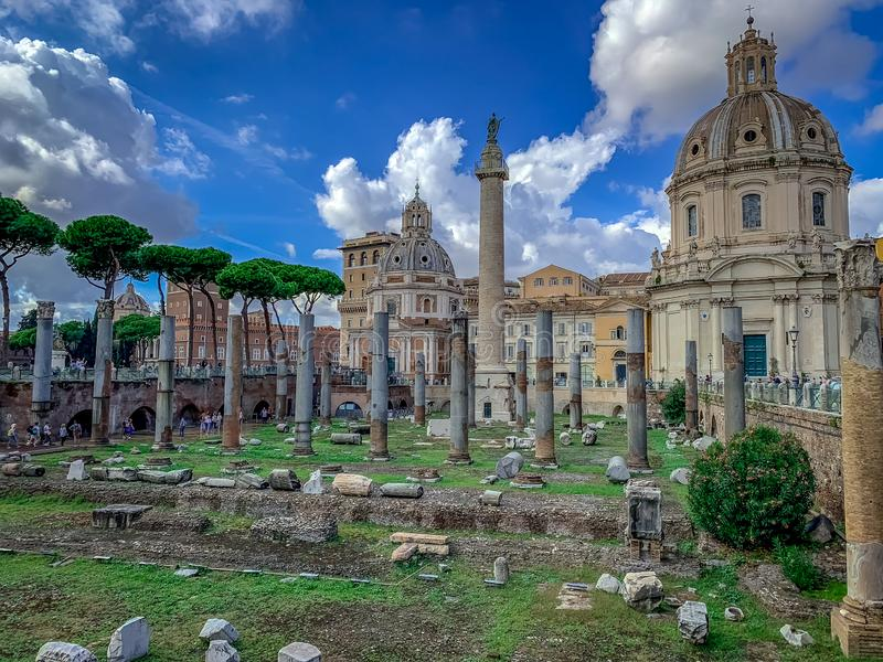 Rome admirablement enchanteur Italie images stock