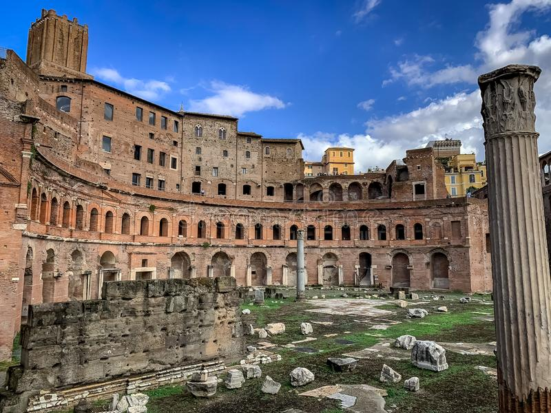 Rome admirablement enchanteur Italie image stock