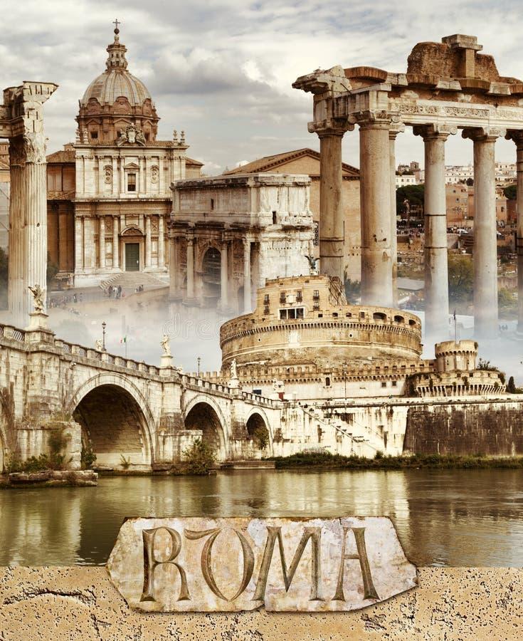 Rome antique illustration stock illustration du landmark - La cuisine de la rome antique ...
