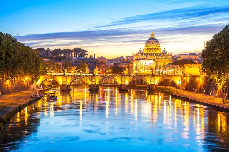 Rome au crépuscule photo libre de droits