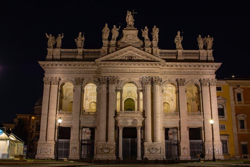 Rome, Basiliek van San Giovanni in Laterano 17/11/2018 royalty-vrije stock foto