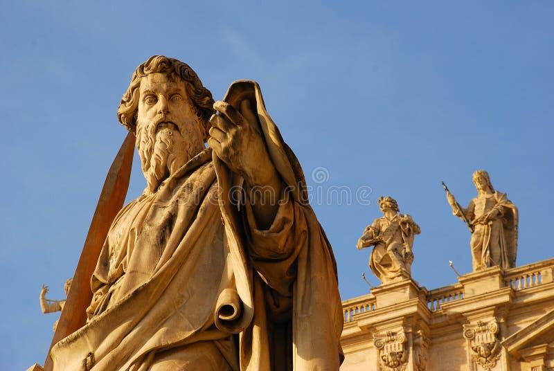 Rome - basilique de rue Peter photo libre de droits