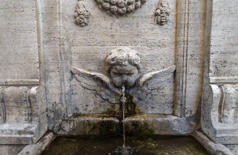 Rome, bron royalty-vrije stock foto