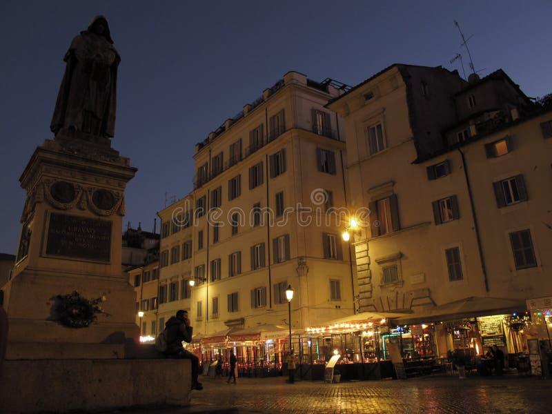 Rome Campo de Fiori royaltyfri bild