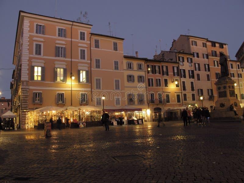 Rome Campo de Fiori arkivfoto