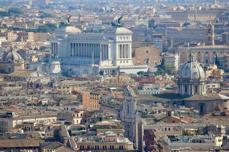 Rome, capitale de l'Italie photo libre de droits