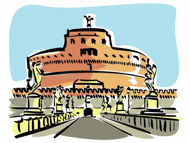 Download Rome (Castel S.Angelo) Royalty Free Stock Images - Image: 21697149