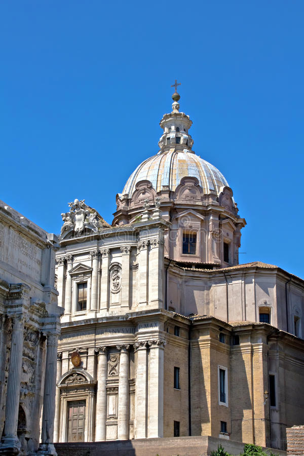 Rome church royalty free stock images