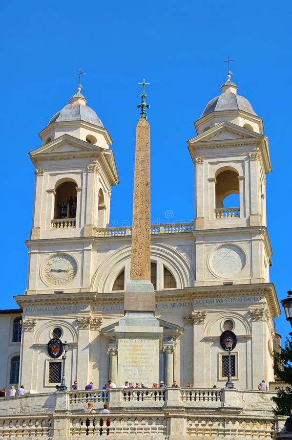 Download Rome Church Trinita Dei Monti Stock Photo - Image: 23843886