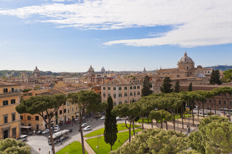 Download Rome cityscape, Italy stock image. Image of architecture - 26762149