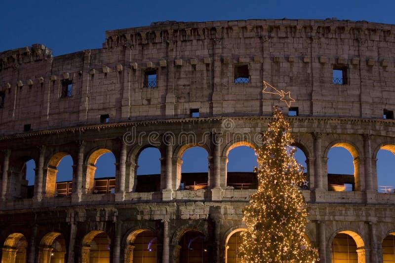 Rome - Colosseo Natale 2007 royalty-vrije stock afbeeldingen