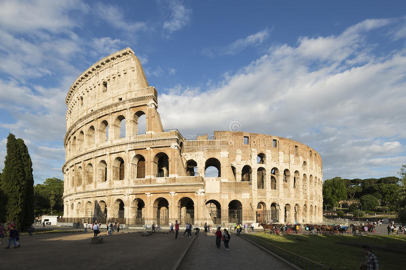 Rome Colosseum royalty-vrije stock fotografie