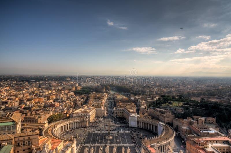 Rome de dôme de S.Pietro photo stock