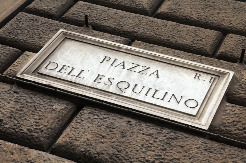 Rome - Esquilino royalty-vrije stock foto's