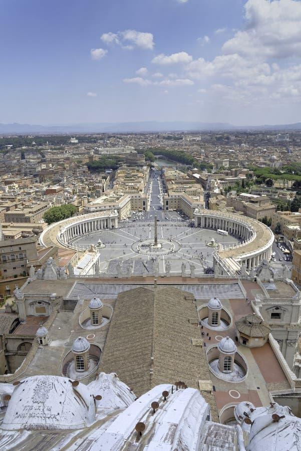 Rome et Ville du Vatican image libre de droits