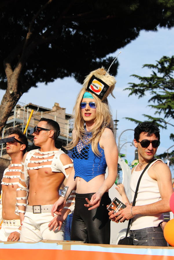 Download Rome Euro Pride Parade 2011 Editorial Photography - Image: 19862682