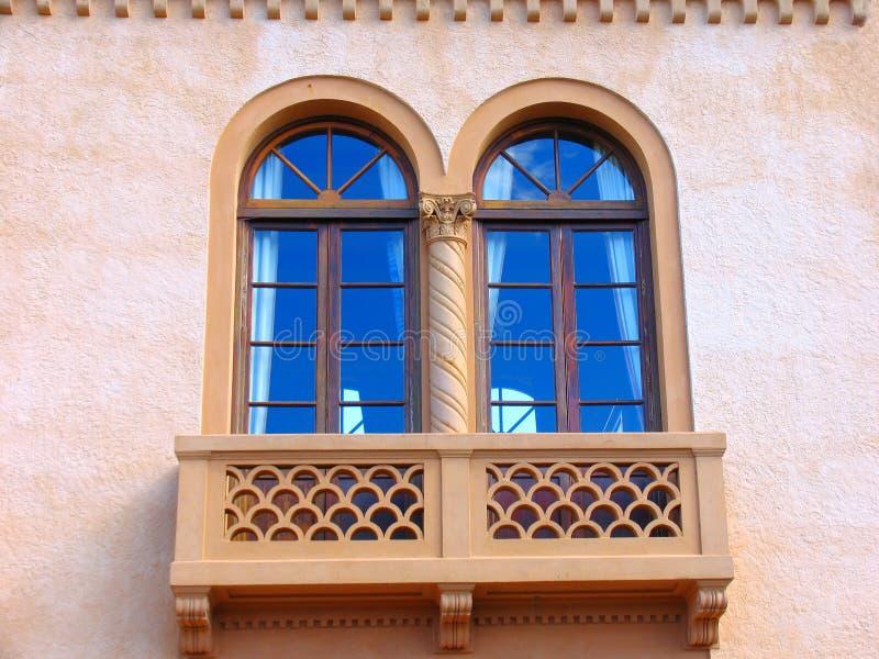 rome fönster fotografering för bildbyråer