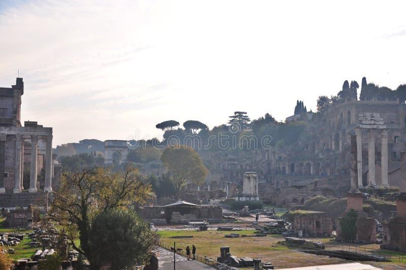 Rome Forum stock photography