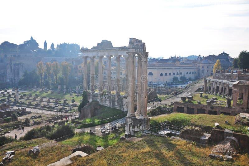 Rome Forum royalty free stock image