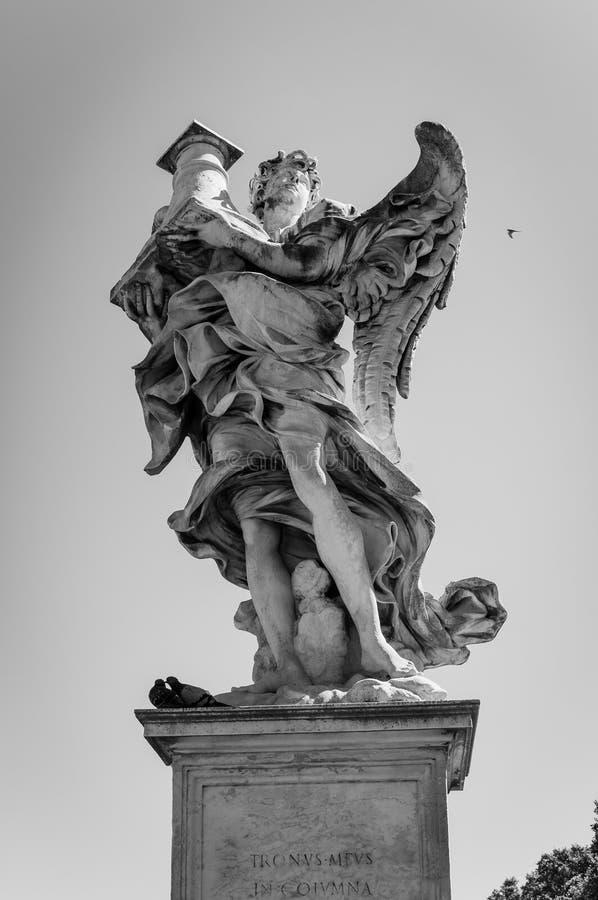 Rome gränsmärke arkivbild