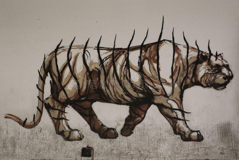 Rome Graffiti royalty free stock images