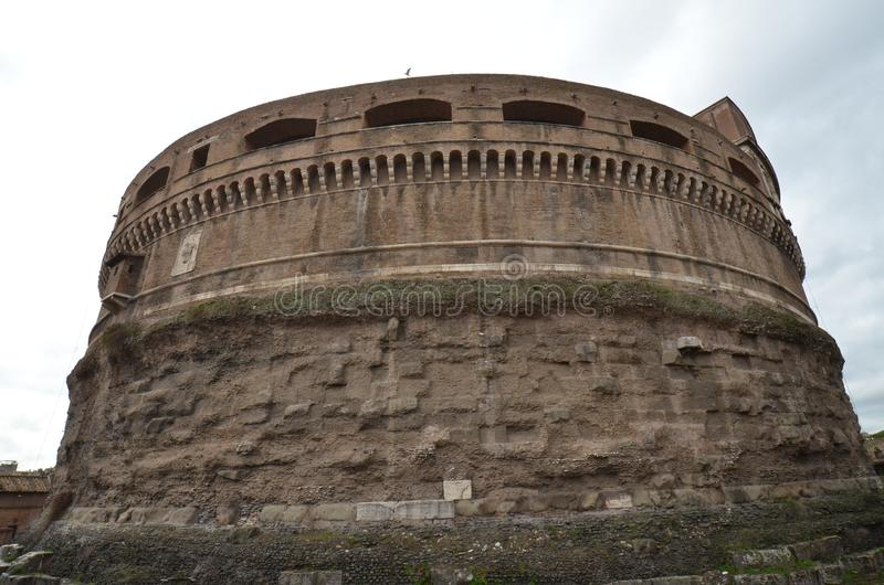 Rome, historic site, fortification, medieval architecture, ancient history stock images