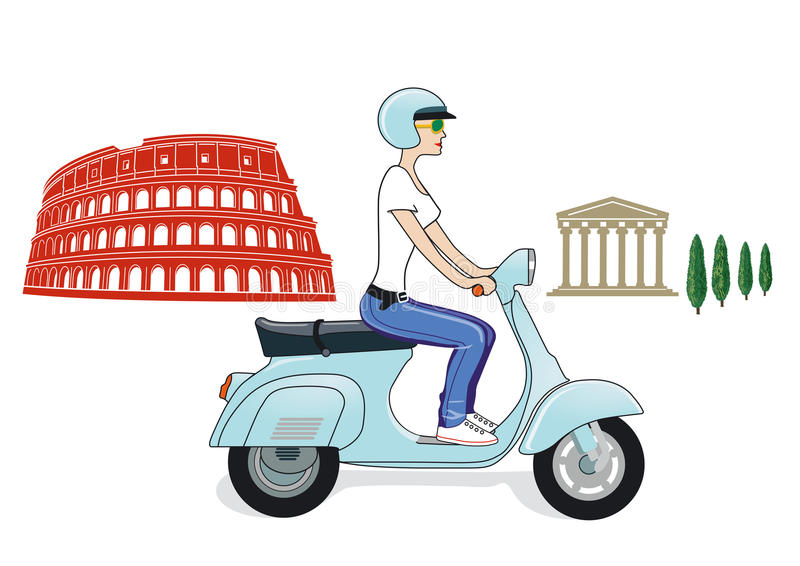 Download Rome icons stock vector. Illustration of historic, motor - 24863297